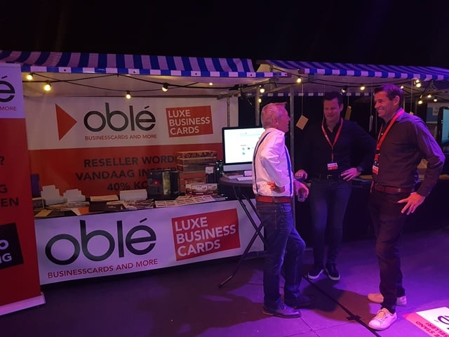 Oble op Prindustry Connect Event