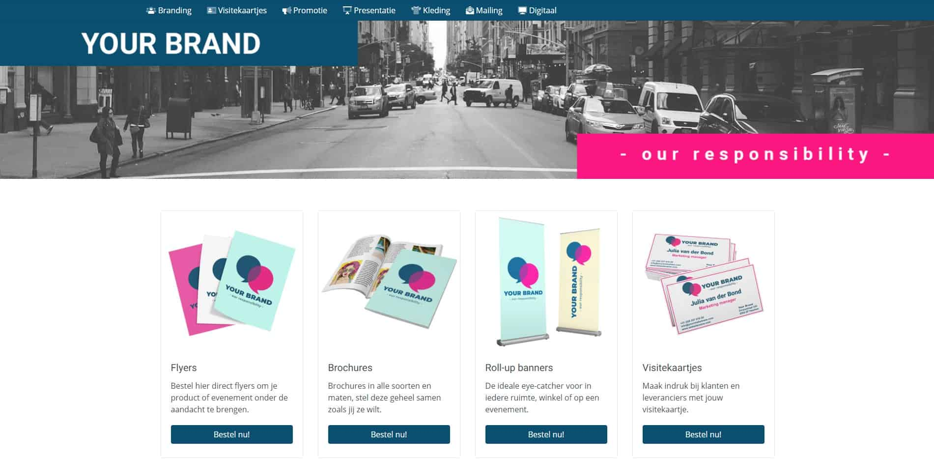 Klantaccount Webshop Brandportal Klantportal