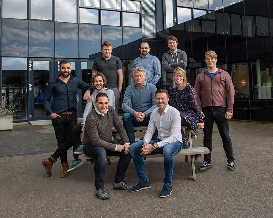Prindustry teamfoto