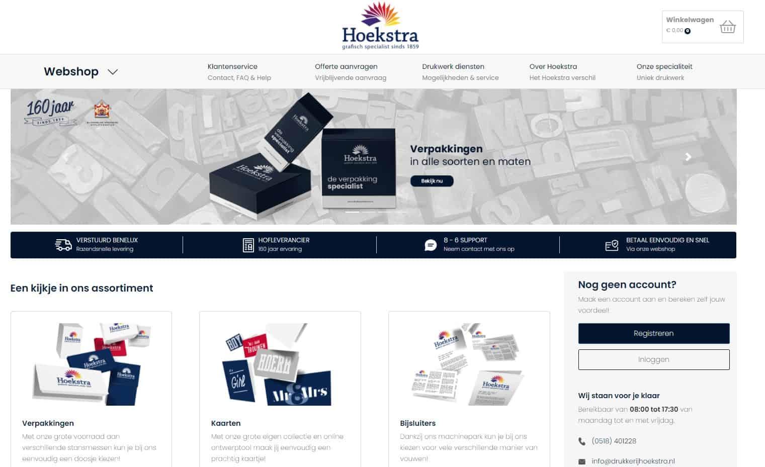 Webshop Hoekstra