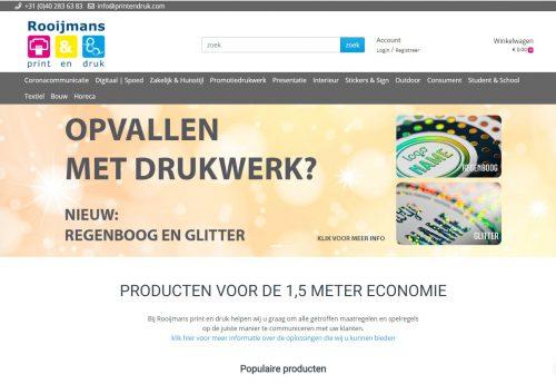 Webshop Rooijmans