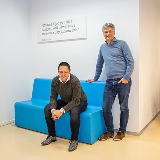 Ramon en Marc Demo Team Prindustry